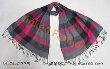Newest Stripes Print Pashmina tassel shawl Stole Stripes Pattern