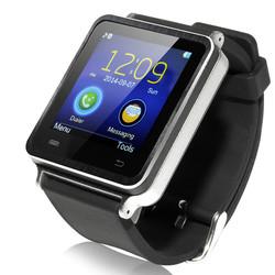 Fashionable Bluetooth Smart Watch Mobile Phone iradish i7(Silver/Black)