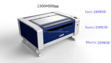100W leather fabric co2 laser cutter machines for small business hot sale with Alibaba Trade Assurance
