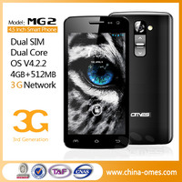 4.5 Inch Hot Sales Low Price Gps No Brand Android Phone
