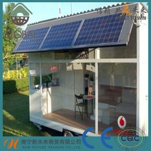 Easy to assemble prefab shipping container house New