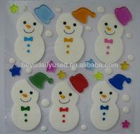 Christmas Gel Sticker / Jelly Gel Stickers, Gel Clings