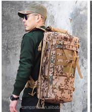 2015 Men Women Outdoor Camping Hiking tactical Backpack bag Waterproof Nylon Sport Rucksacks Molle Hunting