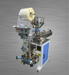 Automatic liquid pouch form fill and seal packing machine