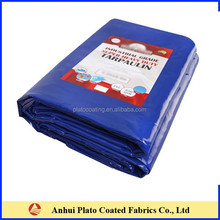 UV Protected Waterproof Blue Vinyl Tarps,18 Oz. Blue Vinyl