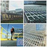 galvanized steel grating, galvanized floor grating, bar grating, trench grating