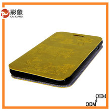 Genuine Leather crocodile skin ostrich leather phone cover For samsung note 3 case for samsung note 3 case