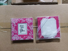 Factory Direct 30% Low Pink Color Morning Glory Coasters