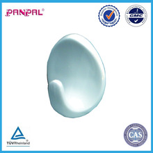 Blister value White Plastic Self Adhesive Oval Hook