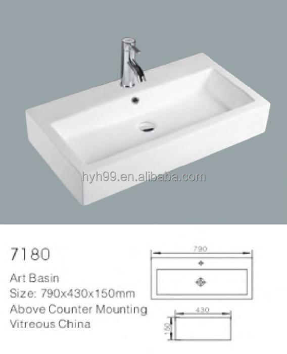 2014 Design Counter Table Top Wash Basin View Counter Top
