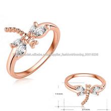 Libélula Personalizado anillo