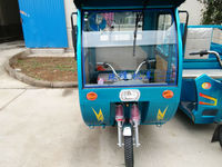 48v passenger and cargo motorized tricycles