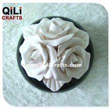 Ceramic Flower bouqet For Aroma Diffuser, Factory Fragrance Oil with Ceramic Bottle set