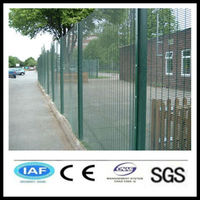 pvc coated CE &ISO certificated 358 security fence/anti climb fence(manufacturer)