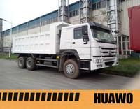 6X4 howo 336 dump truck for rent