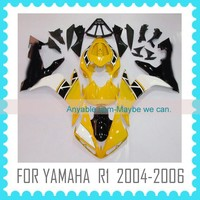 ABS motorcycle Fairing for YAMAHA R1 2004 2005 2006 yellow