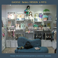 clothes display rack for kids,aesthetic appearance display cabinet