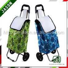 lightweight folding shopping cart drawstring backpack with zipper