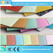 China supplier factory price high quality Paint color tempered glass