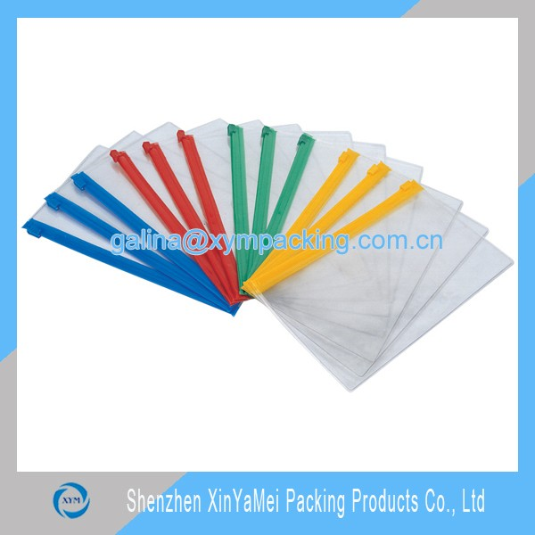 hot sell cheap clear PVC document bag