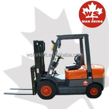 3M Lifting Height 2 Stage Mast 3 Ton Diesel Forklift With imported Japanese ISUZU C240 Engine