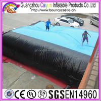 Sport Games Use Inflatable Jumping Cushion