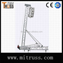 2015 hot Hanging roof speaker truss line array truss