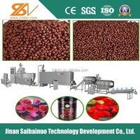 Automatic fish food processing equipment