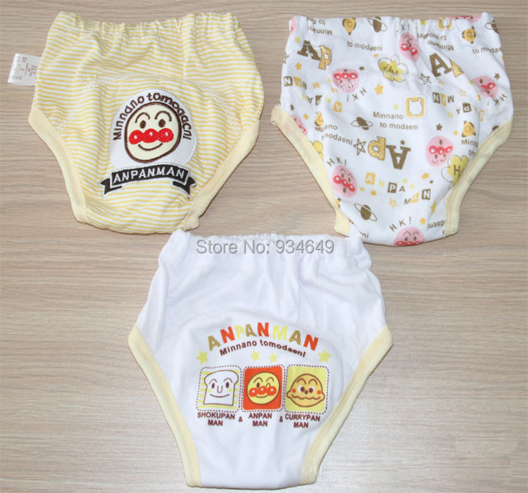 Wholesale 27 pieces/lot 3 layers Baby Training Pants Cotton Bebe Shorts Boy Girl Nappies Infant Diapers Learning Underwear SY001