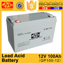 most reliable supplier 12v 100ah sealed lead-acid batteries