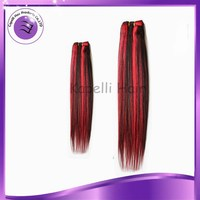2015 new product alibaba whoelsale special offer 20inch ombre straight hair extensions 3 bundles/set brazilian virgin human hair