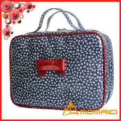 canvas suit bag with bow suit serving Downy Pouch bag