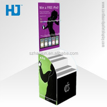 Merchandising Advertising Cell Phone Accessory Display Rack, Point of Sale Display Counter