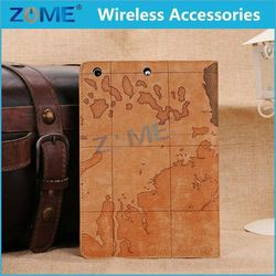 New Products 2015 Innovative Product Classic Map Design Mobile Phone Leather Case Cover For Ipad Mini 2