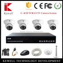 New Kit!! 1.0 Megapixel 720P,3.0Megapixels HD Lens Camera 4 Channels HD DVR CCTV Surveillance Security Equipment System