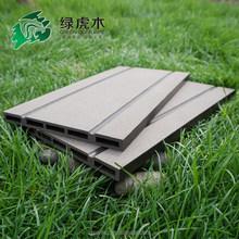 outdoor plastic deck floor covering hollow wpc decking wood plastic composite decking flooring