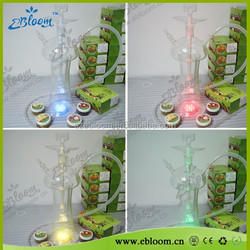 luxury glass hookah LED shisha glass LED for hookah lounge offer