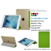 For ipad mini 4 case, flip stand pu leather smart covers case for ipad mini 4 case, Apple Green