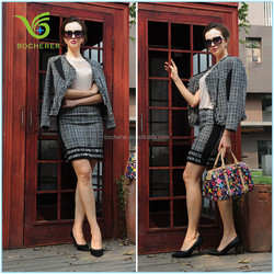 Formal fashion suits for plus size women