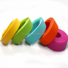 1.6mm thin whippy and flexible TPU coated polyester webbing