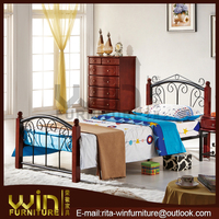 pictures of bed in wood designer beds SB-0828