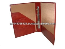 Fashionable Ring Binder / high end customized ring binder