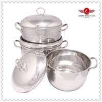 High Quality Thermometer Stainless Steel Cookware Set With Low Price
