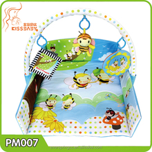 Bee's Family baby play mat