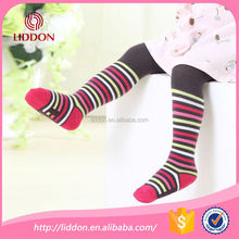 Wholesale baby stripe cotton pantyhose for girls