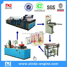 dot by dot production full line new condition toilet tissue roll paper machine embossed roll toilet tissue machine equipment SPB