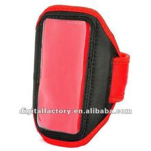 Stylish Sport Armband for HTC One X / S720e - Red + Black