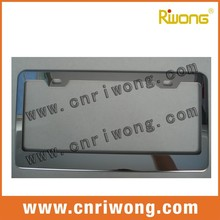 US stainless steel license plate frame