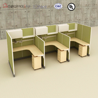 fashionable front office table office table office desk side table