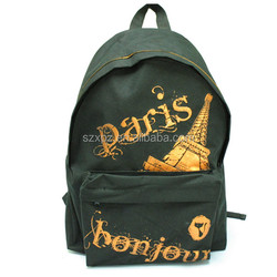 Custom printing kids school bag large capacity backpack for kids